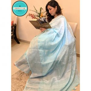 linen saree, handloom saree, saree online, made in india, weaves of india