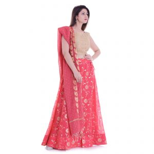 Lehenga Set , Chanderi Silk