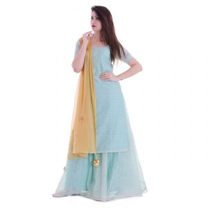 Kurta skirt dupatta set