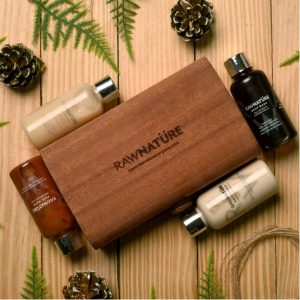 Luxury body care gift pack