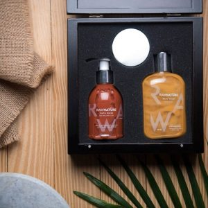 face wash, body wash, night cream