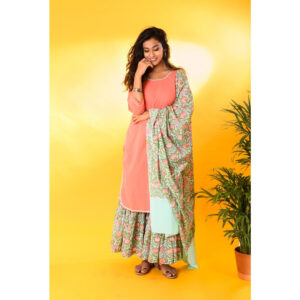sharara, mint sharara, women clothing