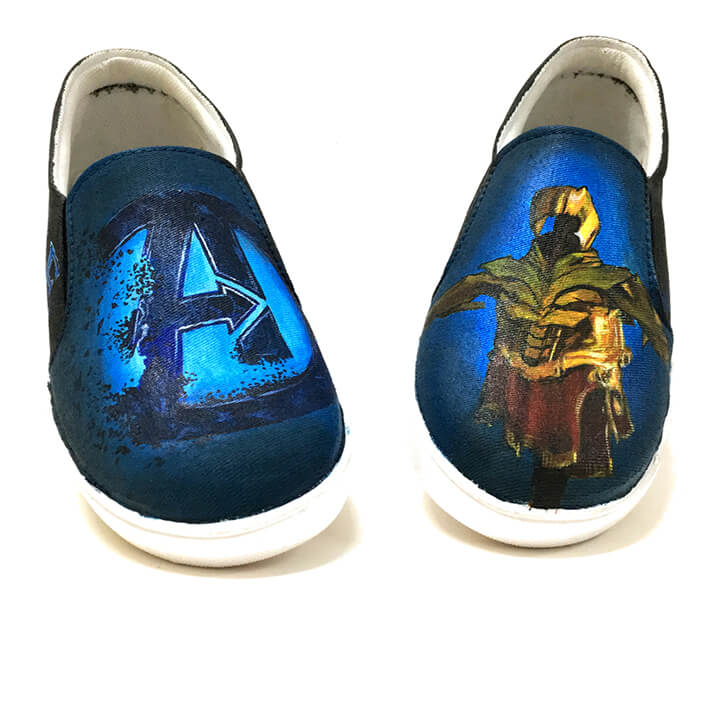 Buy Hand Painted Designer Shoes Online