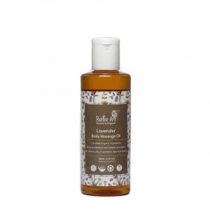 lavendar body massage oil
