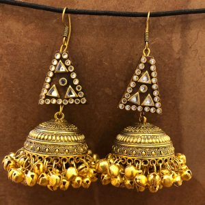 metal earrings, tribal earrings, ethnic earrings