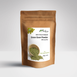 Natural, Haircare, Skincare , eco packing, moong dal, green gram powder