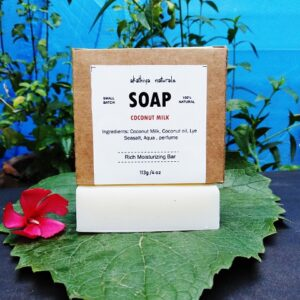 handmade, coconut milk soap, coldprocessed soap, bath and body care