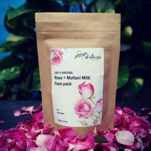 chemical free, natural, eco packing, rose face pack, netmeg, face mask, glow skin, rose petals