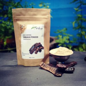 Natural, haircare, eco packing, shikakai, skikakai powder