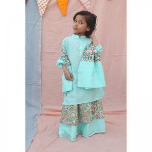 kids dresses, block printed, kids cotton dress, handwoven dresses, handwoven dresses for kids, kids clothing, handmade in india, made in india, india made