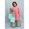 kids dresses, hand blockprint, kids cotton dress, handwoven dresses, handwoven dresses for kids, kids clothing, handmade in india, made in india, india made