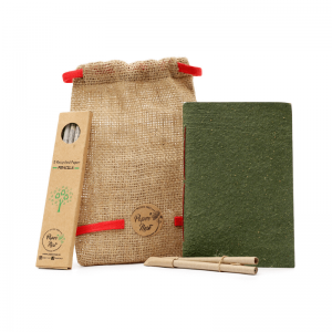 handcrafted, ecofriendly, treefree, plasticfree, organic, notebook
