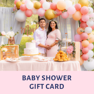 Baby Shower Gift Card, Gift Card