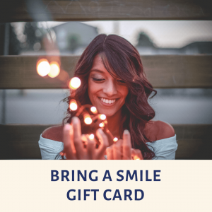 Bring A Smile Gift Card, Surprise Gift Card, Gift Card