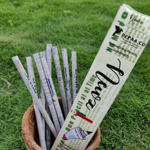 Newspaper Pencils, Eco- friendly Stationery, Pencils, Stationery