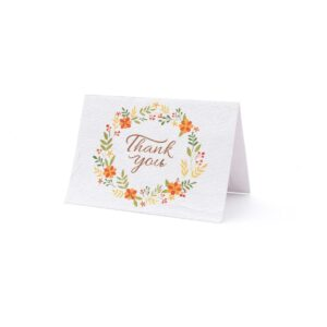 Eco-friendly Thank You Card, thank you cards, Eco-friendly