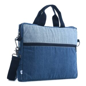 Laptop Bag, Denim Laptop Bag