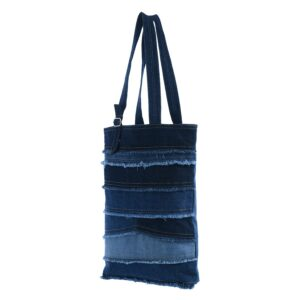 Tote Bag, Upcycled Tote Bag, Denim Tote Bag