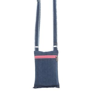 Sling Bag, Denim Sling Bag, Upcycled Sling Bag