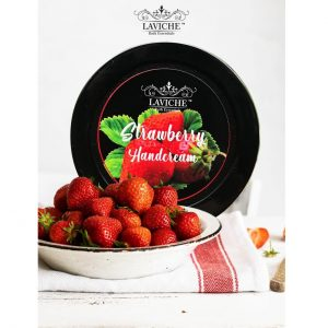 Strawberry Hand Cream, Handcream, Moisturiser