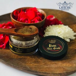 Rose Face Scrub, Face Scrub