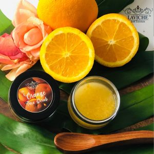Orange Face Scrub, Face Scrub