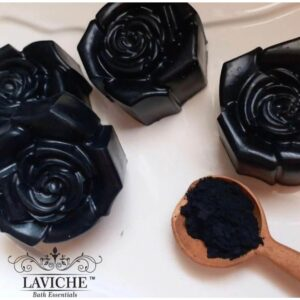 Charcoal Rose Soap, Essentials, Soap, Bathing Soap, Soap Bar