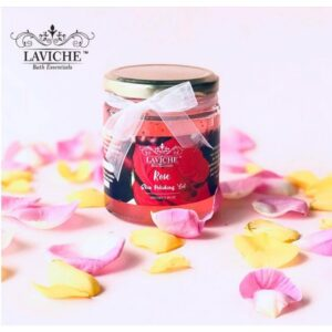 Rose Skin Polishing Gel Scrub, Face and Body Scrub