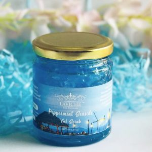 Peppermint Sea Side Gel Scrub, Face and Body Scrub