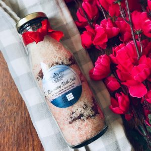 Energising Rose Bath Salts, Bath Salt, Body Care