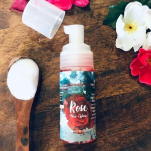 Rose Face Wash, Face Wash, Face Cleanser, Essentials, Face and Body Care