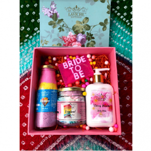 """Bride To Be"" Gift Box, Luxury Body Care Gift Box, Bath and Body Care"