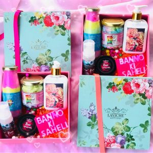 """Banno Ki Saheli"" Gift Box, Luxury Body Care Gift Box, Bath and Body Care"