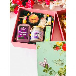 All that she wants Gift box, Luxury Body Care Gift Box, Bath and Body Care