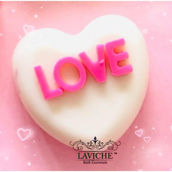Pink Love Soap Combo, Soap Bar, Handmade Soap, Bathing Soap, Essentials