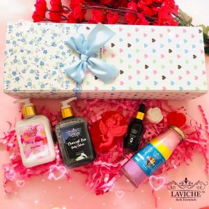 Romeo Body Care Gift Box,Luxury Body Care Gift Box, Bath and Body Care