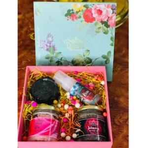 Rose Body Care Gift Box,Luxury Body Care Gift Box, Bath and Body Care