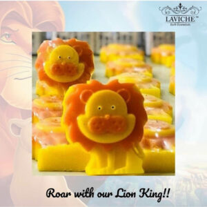 Kids soap, lion king soap, organic soap,natural soap