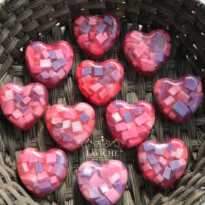 heart soap, organic soap,natural soap