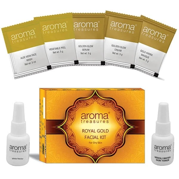 Aroma Treasure Royal Gold Facial Kit For Dry Skin