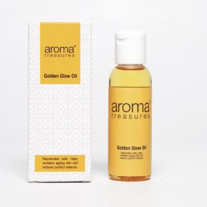 Aroma Treasures Golden Glow Facial Oil, Face Oil