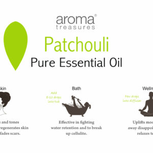 Aroma Treasures Patchouli Essential Oil 100% Pure & Natural, Essential Oil