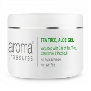 Aroma Treasures Tea Tree Aloe Gel, Face Gel