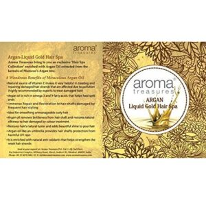 Argan-Liquid Gold Hair Spa by Aroma Treasures - 30 g