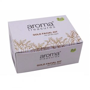 Aroma Treasures Golden Glow Kit Single Time Use, Face Care Kit