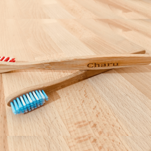 Personalised Name Engraved Bamboo Toothbrush