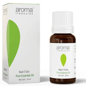 Aroma Treasures Basil (Tulsi) Essential Oil 100% Pure & Natural, Essential Oil