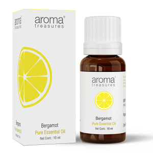 Aroma Treasures Bergamot Essentail Oil 100% Pure & Natural, Bergamot Essential Oil