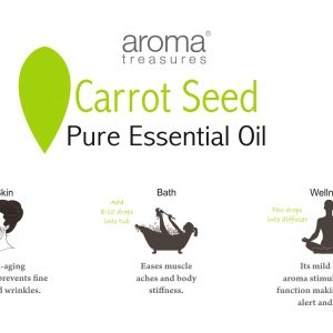 Aroma Treasures Carrot Seed Essential Oil 100% Pure & Natural, Essential Oil