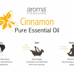 Aroma Treasures Cinnamon leaf Essential Oil 100% Pure & Natural